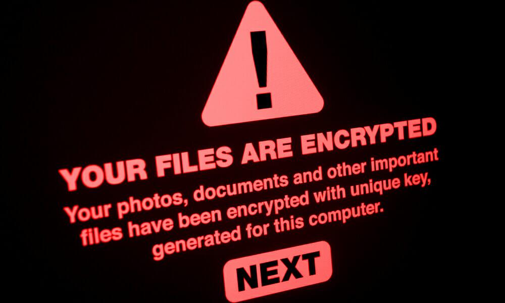 ransomware stock image